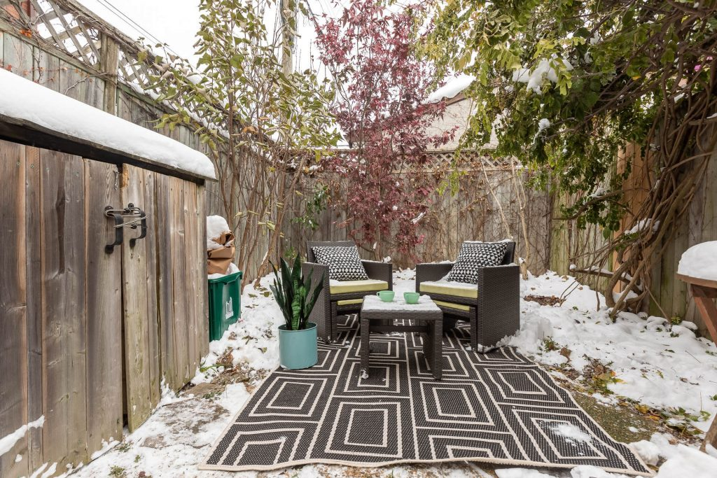 1 1-2 Montrose Ave Toronto ON M6J 2T7 – Backyard 2