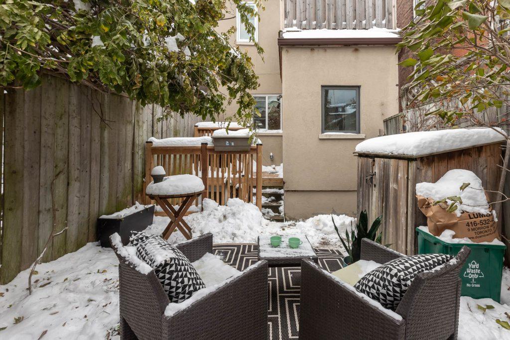 1 1-2 Montrose Ave Toronto ON M6J 2T7 – Backyard 3