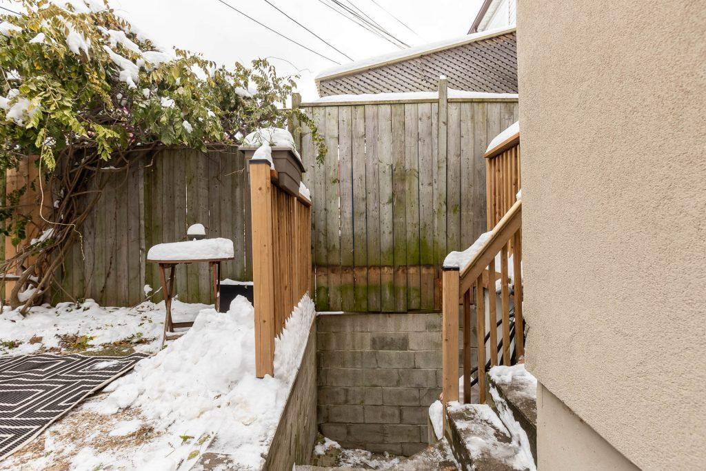 1 1-2 Montrose Ave Toronto ON M6J 2T7 – Basement Apartment Entrance