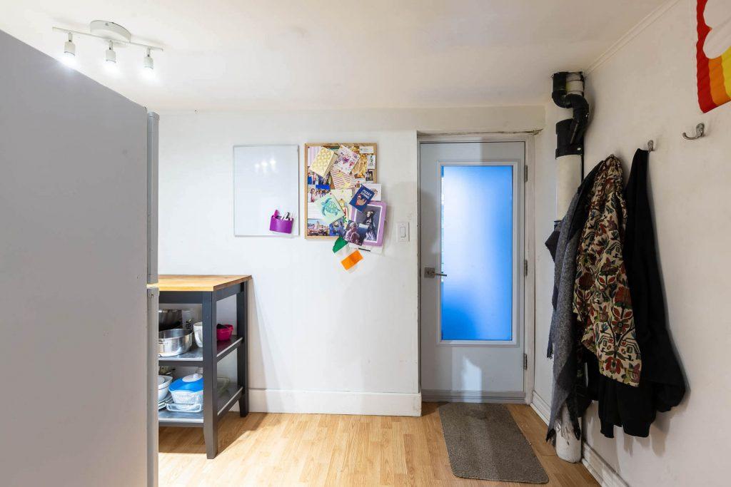 1 1-2 Montrose Ave Toronto ON M6J 2T7 – Basement Apartment Entryway