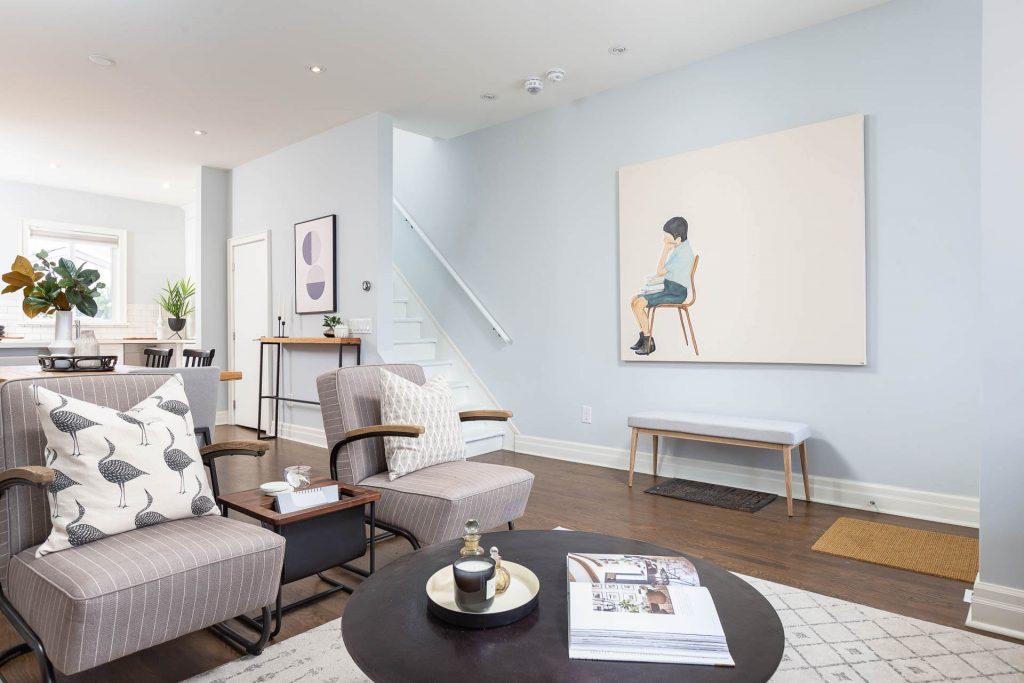 1 1-2 Montrose Ave Toronto ON M6J 2T7 – Living Room 5